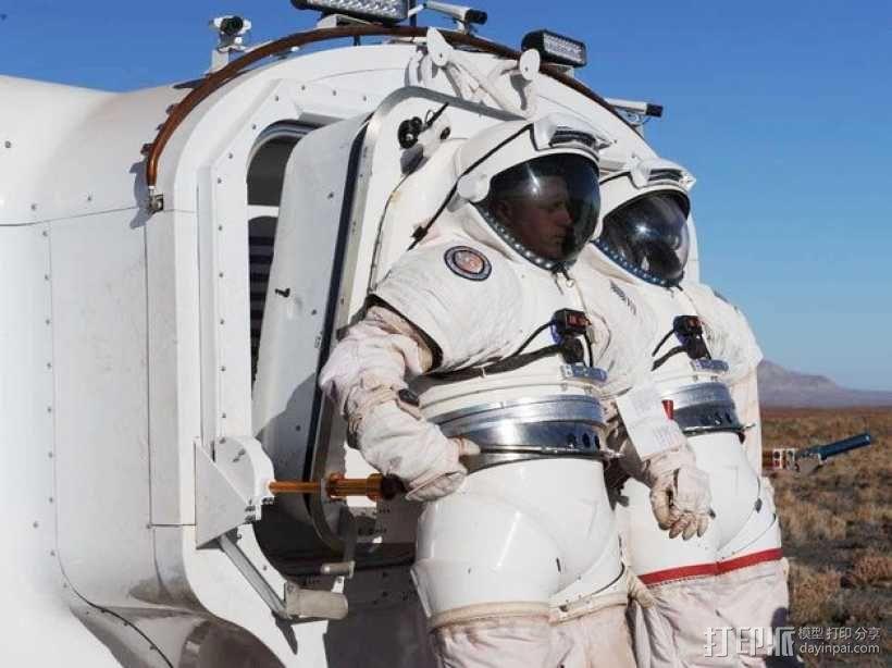 太空服模型 3D模型  图8