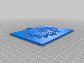 透光浮雕  3D模型