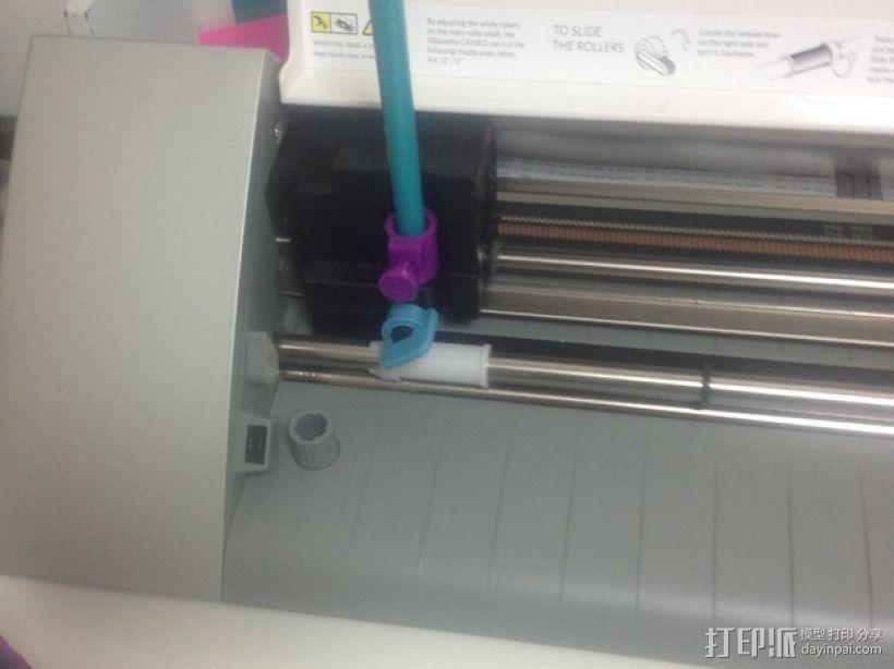打印机笔架 3D模型  图2