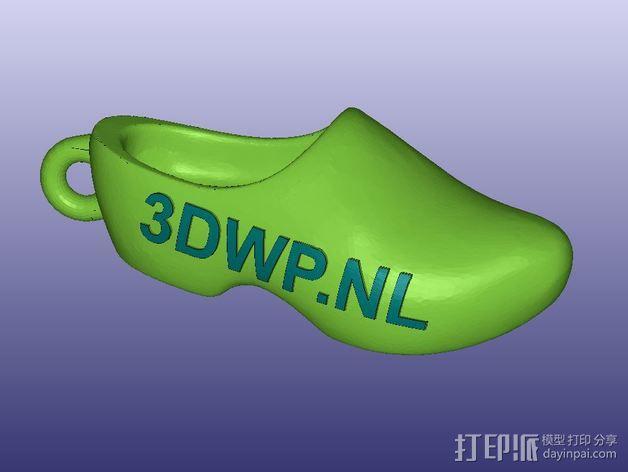 木屐 3D模型  图6