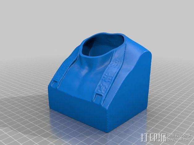 拿破仑半身像模型 3D模型  图2