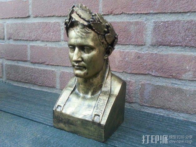 拿破仑半身像模型 3D模型  图6