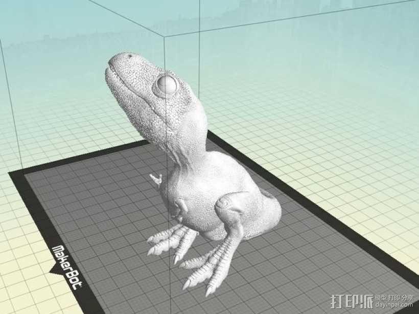 霸王龙宝宝 3D模型  图1