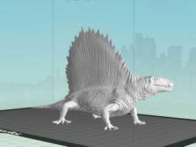 异齿龙模型 3D模型