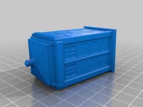 警察亭模型 3D模型