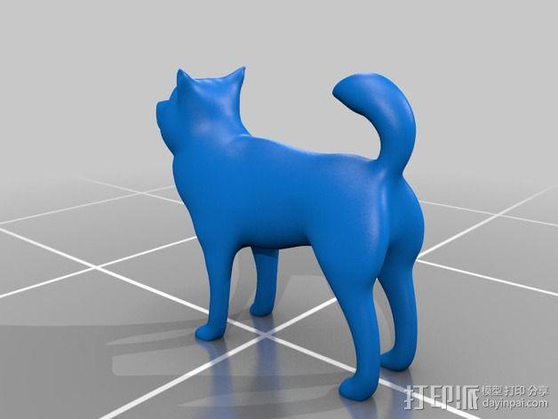 火箭模型 小狗模型 3D模型  图4