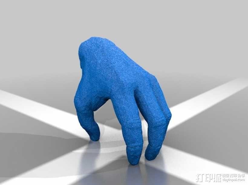 手——亚当斯一家 3D模型  图2