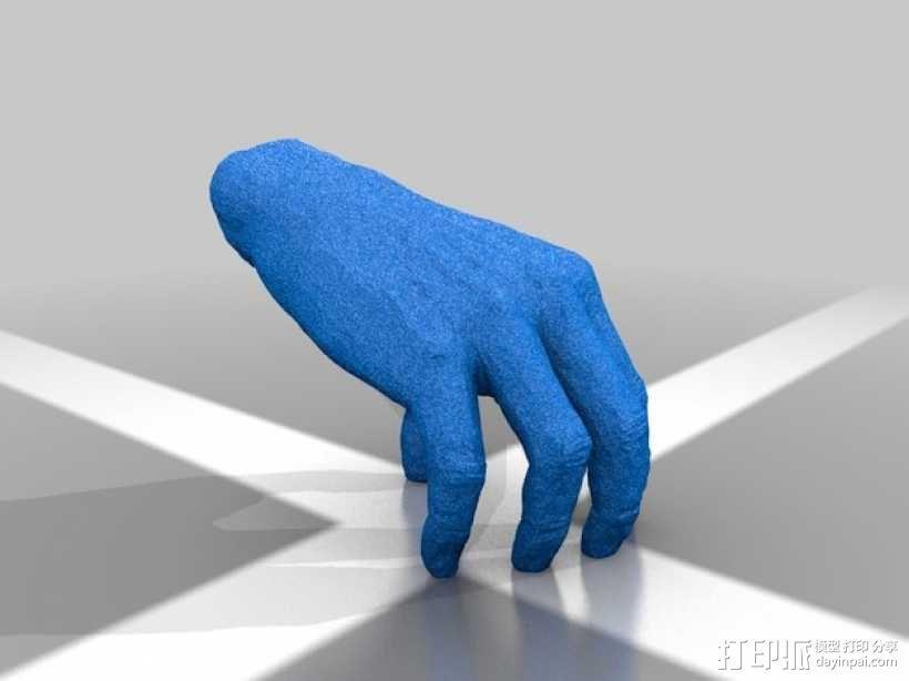 手——亚当斯一家 3D模型  图1