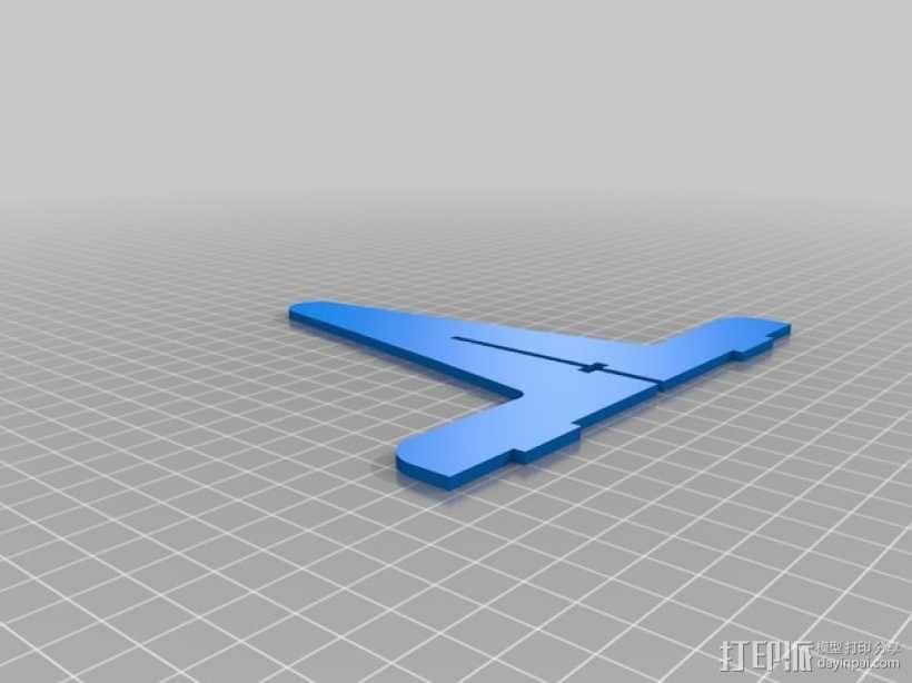 单簧管支架 3D模型  图5