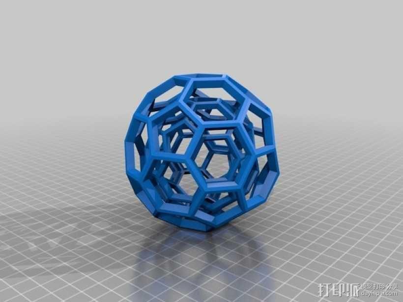 布基球 3D模型  图2