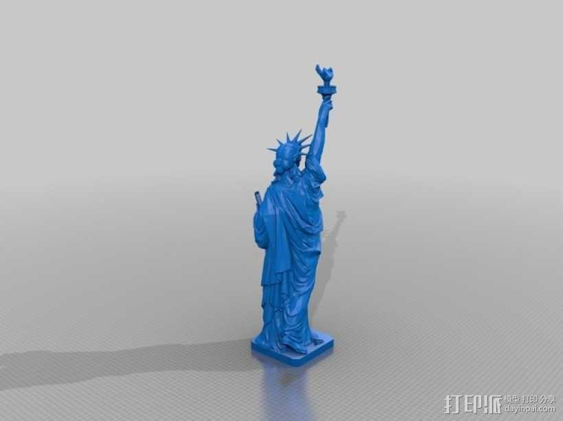 自由女神像 3D模型  图1