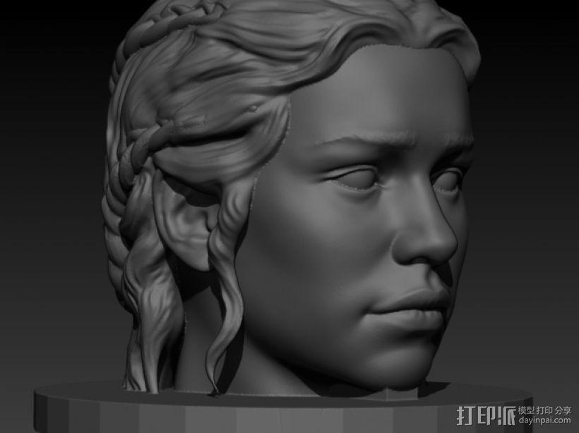 龙之母 雕塑 3D模型  图1