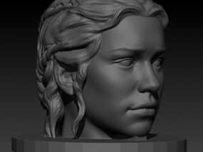 龙之母 雕塑 3D模型