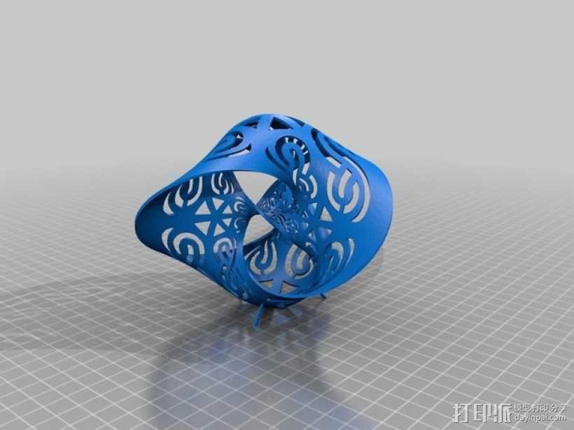 塞弗特曲面 3D模型  图2