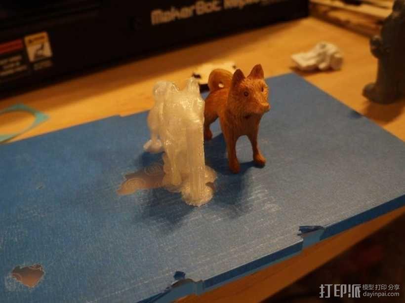 哈士奇犬 3D模型  图1