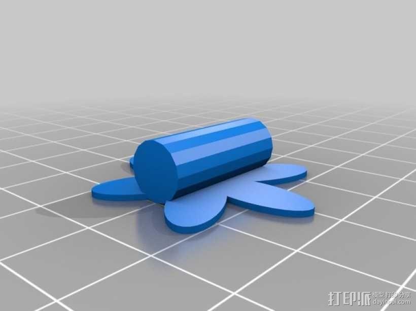 太阳花 彩色花 3D模型  图10