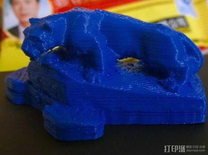 尼特尼狮子雕像 3D模型  图3