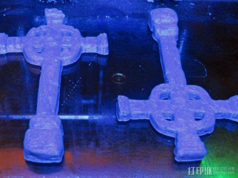 墓室十字架 3D模型  图5