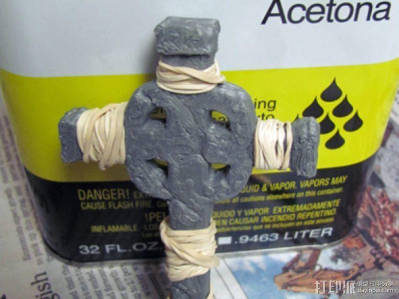 墓室十字架 3D模型  图6