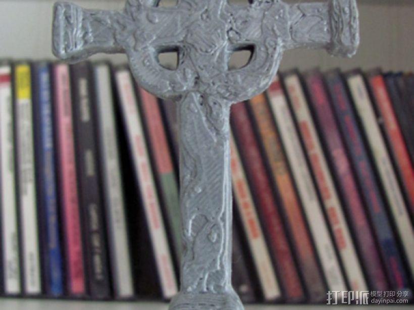 墓室十字架 3D模型  图8