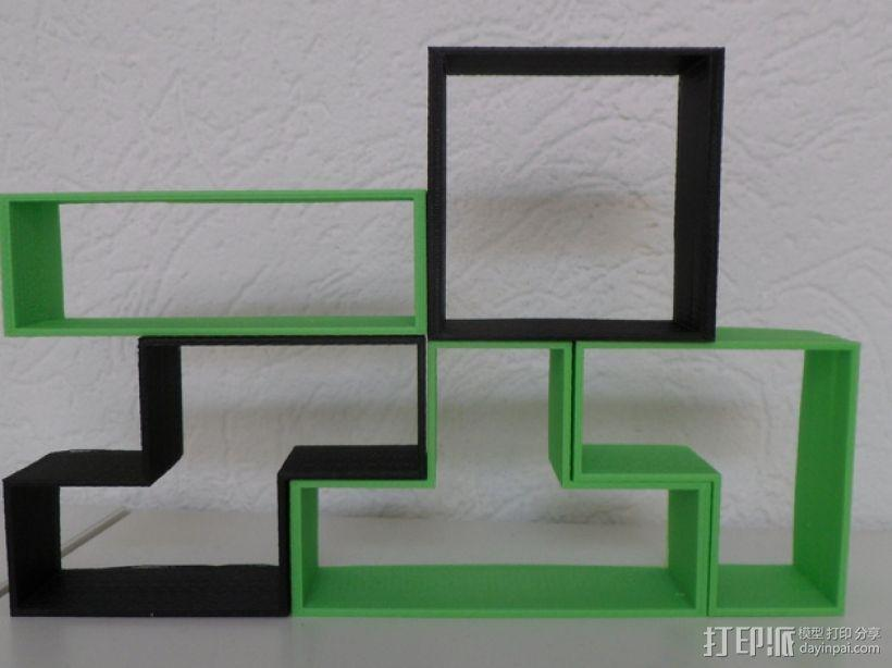 俄罗斯方块 3D模型  图1