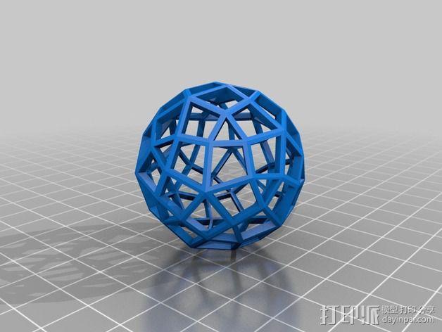多面体球 3D模型  图3