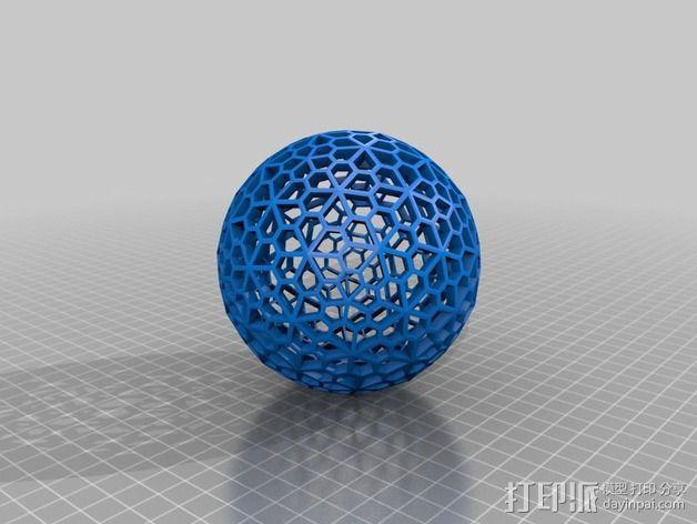 多面体球 3D模型  图2