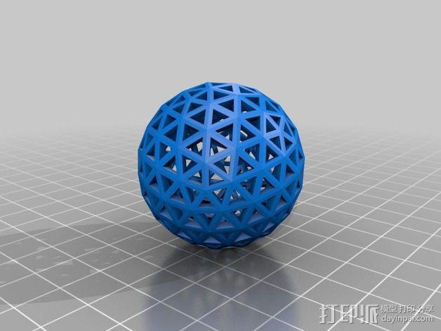 多面体球 3D模型  图4