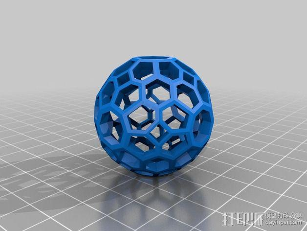 多面体球 3D模型  图6