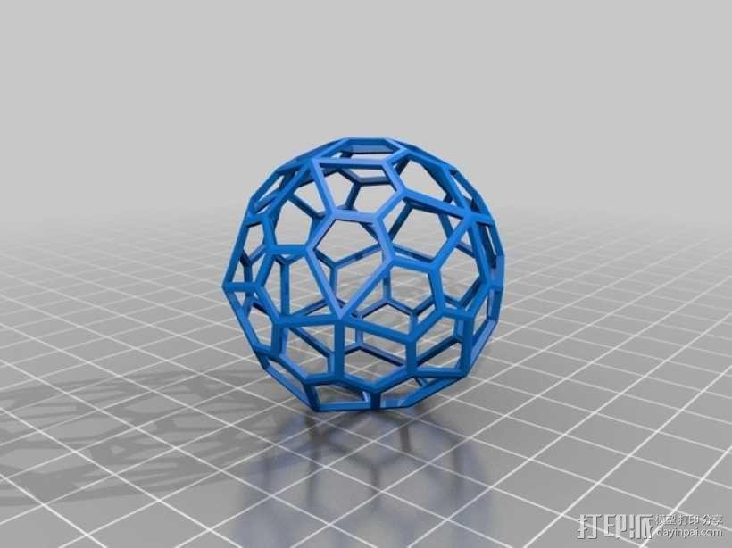 多面体球 3D模型  图7