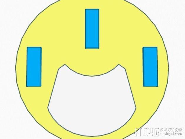 口袋妖怪徽章 3D模型  图5