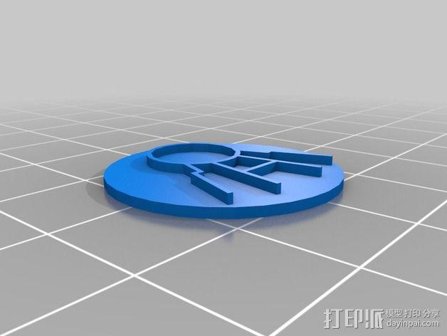 口袋妖怪徽章 3D模型  图9