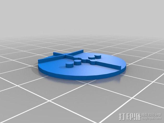 口袋妖怪徽章 3D模型  图11