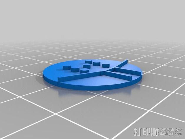 口袋妖怪徽章 3D模型  图12