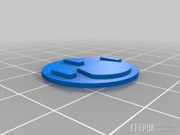 口袋妖怪徽章 3D模型  图14
