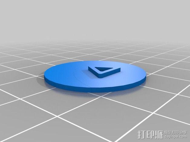 口袋妖怪徽章 3D模型  图13