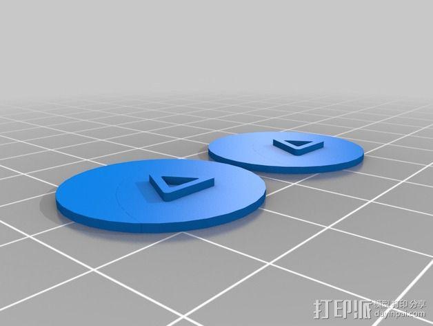 口袋妖怪徽章 3D模型  图20