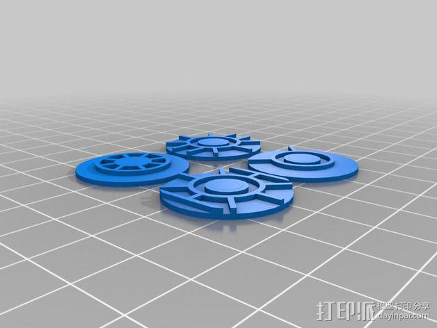 口袋妖怪徽章 3D模型  图22