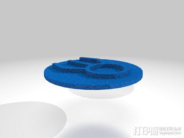 口袋妖怪徽章 3D模型  图24