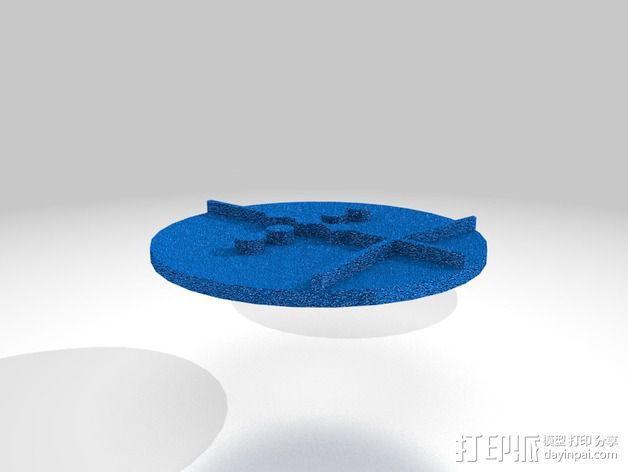 口袋妖怪徽章 3D模型  图27