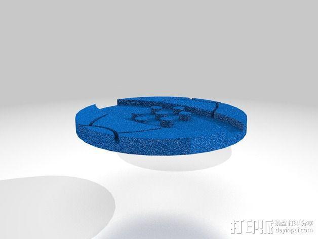 口袋妖怪徽章 3D模型  图26