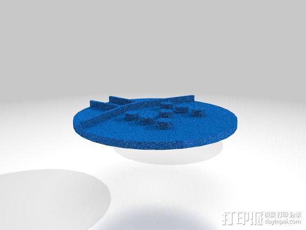 口袋妖怪徽章 3D模型  图28