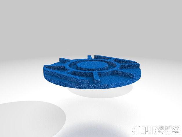 口袋妖怪徽章 3D模型  图33