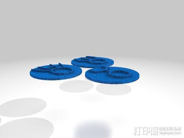 口袋妖怪徽章 3D模型  图35