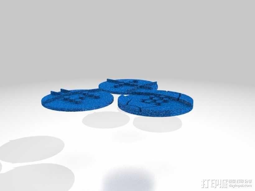 口袋妖怪徽章 3D模型  图36