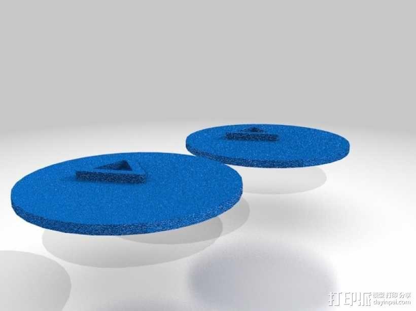 口袋妖怪徽章 3D模型  图37