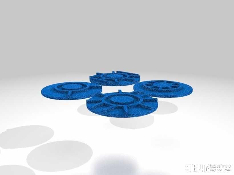 口袋妖怪徽章 3D模型  图38