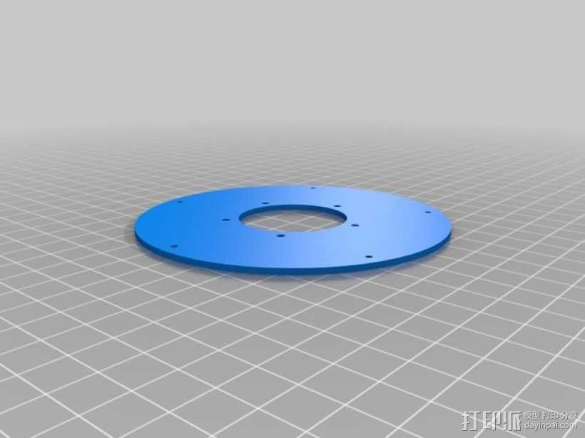 机械虹膜 3D模型  图4