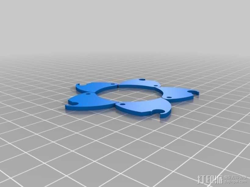 机械虹膜 3D模型  图7