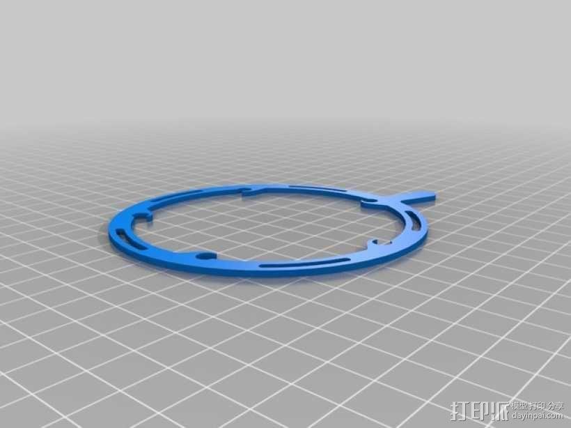 机械虹膜 3D模型  图8